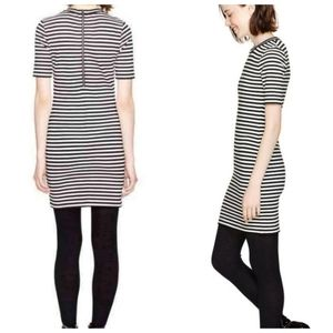 Aritzia Sunday Best Miller dress black white 8